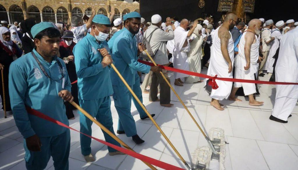 африканские работники в Саудовской Аравии